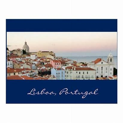 Portugal Postcard Lisboa Portuguese