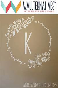 wildflowers floral frame vinyl wall decal vinyls crafts With vinyl lettering decals for crafts