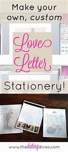 love letter stationery With personalized love letters