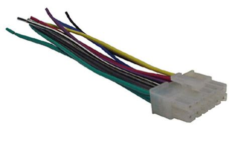 kenwood wiring harness car stereo 12 wire connector ebay