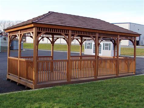 wood gazebo    wooden gazebo plans  build   gazebo shed plans package