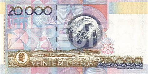 billete de  mil pesos edicion conmemorativa de julio