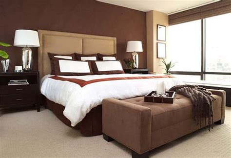 Schlafzimmer Braune Wand by Chocolate Brown Bedrooms Inspiration Ideas