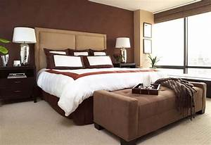 Chocolate brown bedrooms inspiration ideas for Chocolate brown bedroom ideas
