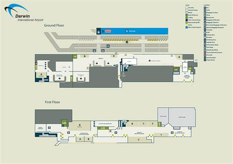 airport darwin map terminal international territory northern facilities park preview