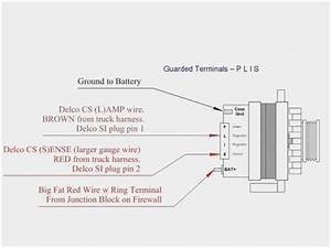 4 Wire Alternator Wiring Diagram