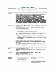 Resume for a teenager who has never worked