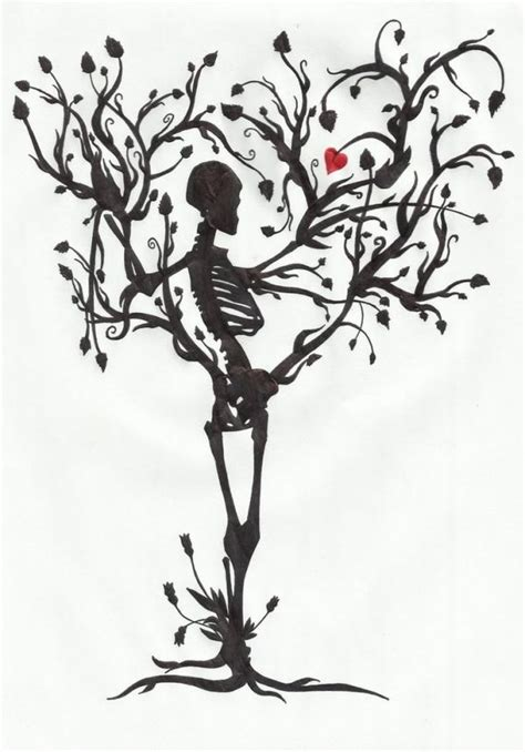 The Tree Life Mrpale Deviantart Skeleton