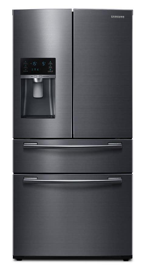 samsung door refrigerator samsung 25 cu ft door refrigerator rf25hmedbsg