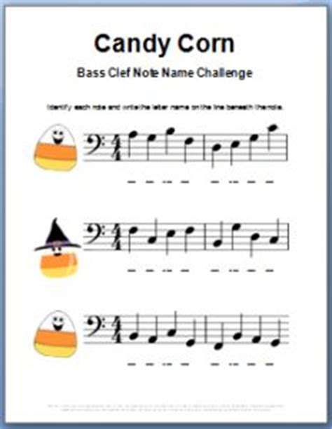 color  note bass clef note  worksheet http