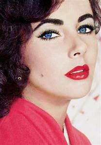 Elizabeth Taylor Double Eyelashes Close Up | www.pixshark ...