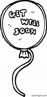 Soon Well Coloring Printable sketch template