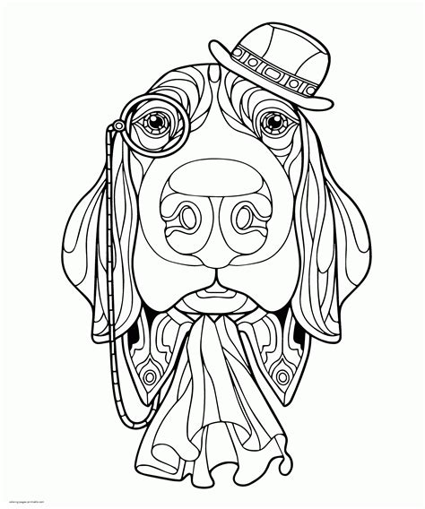 adult animal coloring pages coloring home