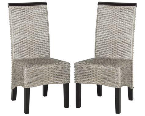 Safavieh Rattan Dining Chairs by Safavieh Ilya Wicker Dining Chair Ebay