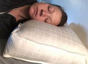 beyond down gel fiber side sleeper pillow review sleepopolis With down pillows for side sleepers