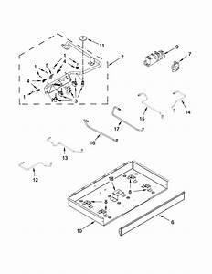 Ikea Model Ics655ds00 Counter Unit  Gas Genuine Parts