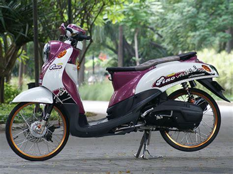 modifikasi yamaha fino thailook simple desain motorbike yamaha vehicles