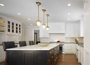 the perfect brass pendant light for your kitchen home With kitchen colors with white cabinets with antique brass wall art