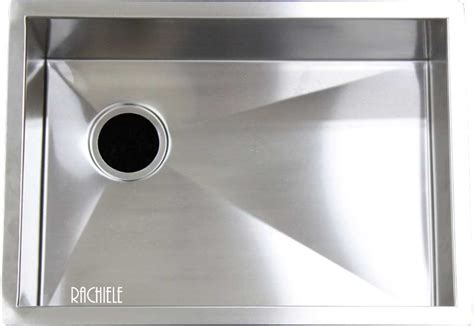 Custom Made Stainless Steel under mount and workstation
