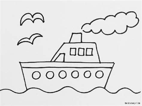 Kleurplaat Boot by Kleurplaat Kleurplaten Voor Jonge Kinderen Peuters