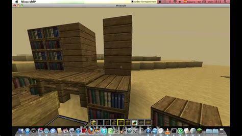 un bureau minecraftconstruction tuto comment faire un bureau et un