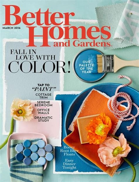 better homes and gardens magazine subscriptions renewals