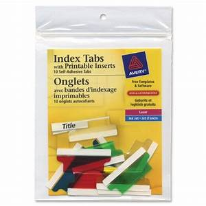 avery index tabs with printable inserts 15 inch 25 tabs With avery index tabs with printable inserts template