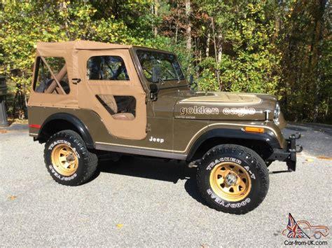 jeep golden eagle for sale jeep cj golden eagle all original