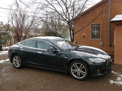 tesla model  battery life   range loss  electric car  time