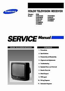 Samsung Samsung Ct3338 Chasis K15a Tv Service Manual Pdf