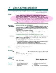 Example Resume Objective Statement For Nursing Resume