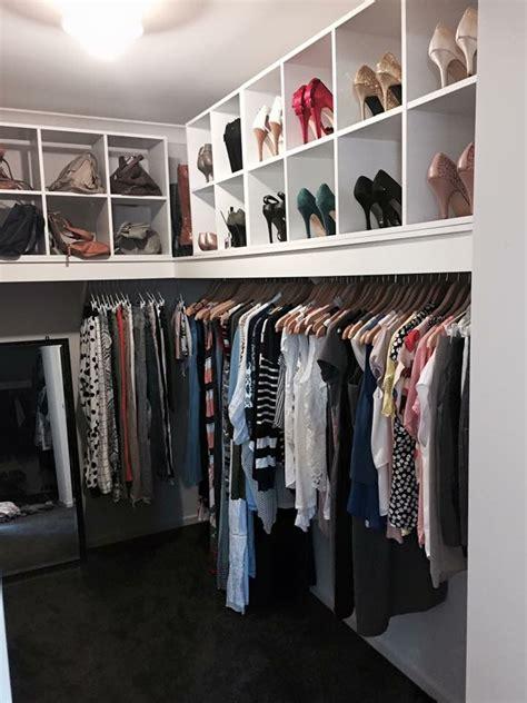 Wardrobe Storage Solutions by Kmart Walk In Robe Closet In 2019 Wardrobe Storage