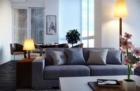 déco canapé deco salon avec canape bleu chaios com