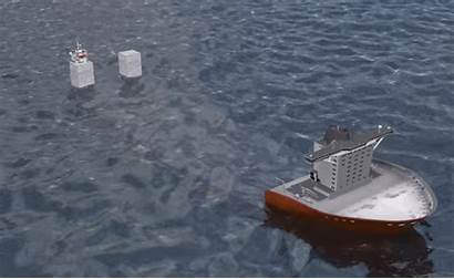 China Cargo Ship Sea Hand South Screen