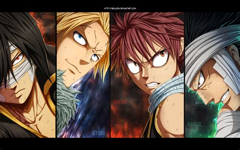 fairy tail dragonslayers hd wallpaper background image