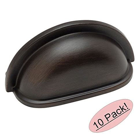 Cosmas Kitchen Cabinet Hardware by Cosmas 4310orb Oil Rubbed Bronze Cabinet Hardware Bin Cup