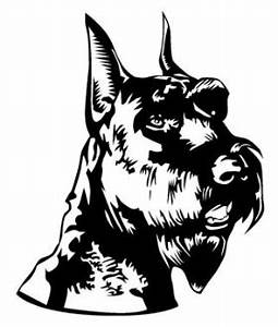 schnauzer head decal sticker With kitchen cabinets lowes with scottish terrier stickers