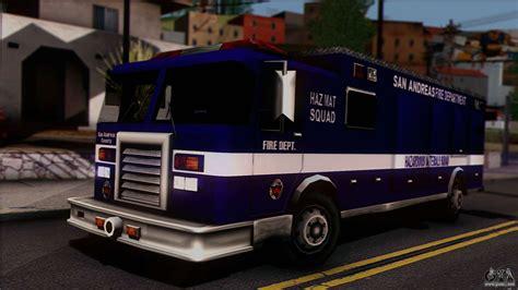 Fdsa Hazardous Materials Squad Truck For Gta San Andreas