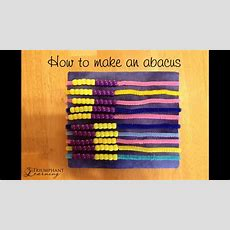 How To Make An Abacus Youtube