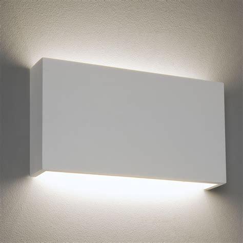 astro 325 2700k plaster led wall light at uk