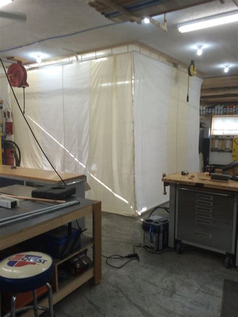 drop  spray booth  exhaust fan  woodshop