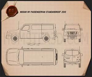 Nissan Nv Passenger Van Standard Roof 2013 Plans