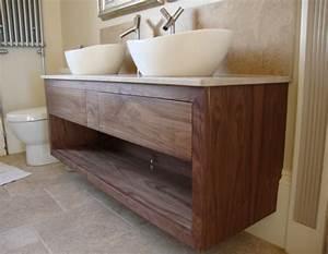 Le meuble sous lavabo 60 idees creatives archzinefr for Meuble sous vasque salle de bain en bois