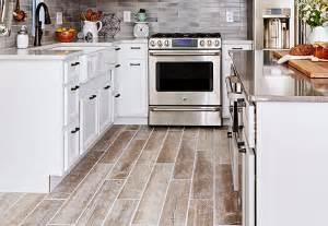 kitchen tile that looks like wood tile wood look flooring ideas 9605