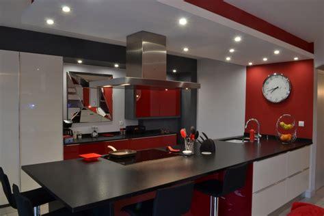 cuisine moderne noir et blanc cuisine noir et blanc laque 2 laque blanc et noir