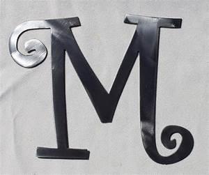 10 curlz font decorative metal letter by charlestonharbor With aluminum letters decorative
