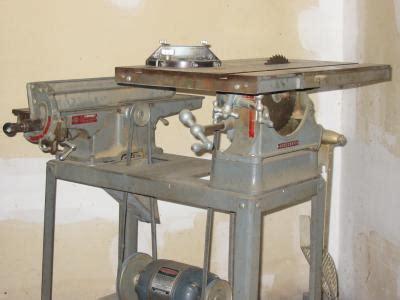 homecraft rockwelldelta table sawjointer combination