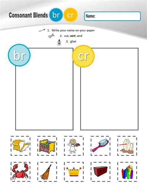 """R"" Family Clusters br/cr/dr/fr/gr/pr/tr (#1 of 4 Phonemic"
