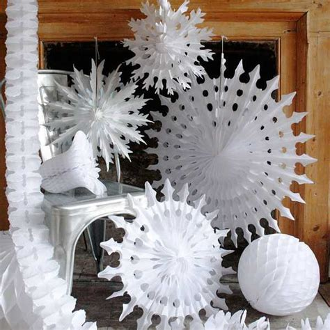 3d paper snow flakes car interior design