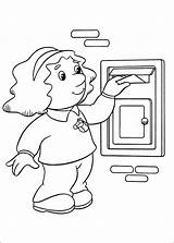 Postman Coloring Pat Pages8 Print Pages sketch template